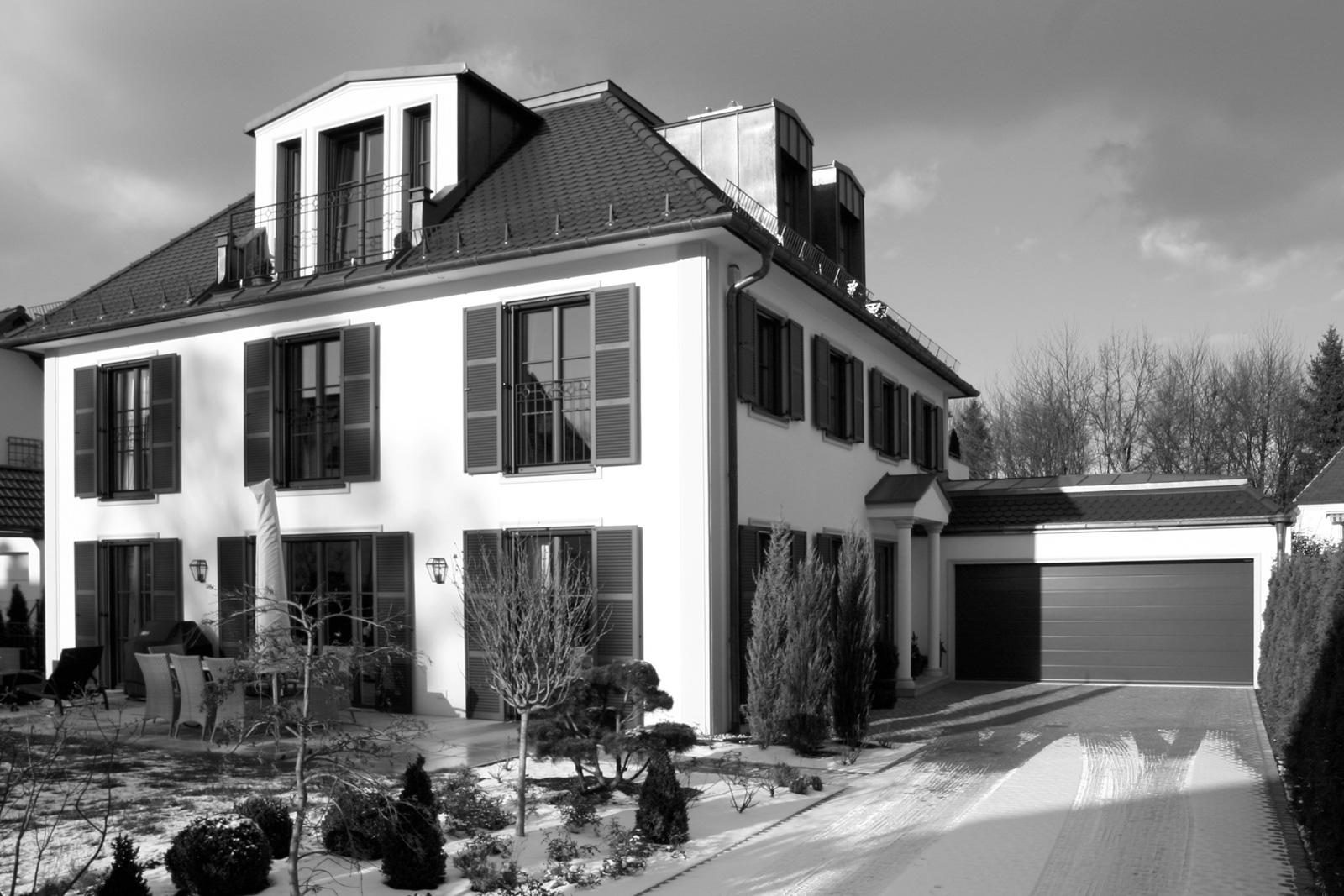 Klassische Villa Neubau villa k – neubau eines wohnhauses in münchen bogenhausen – architekt