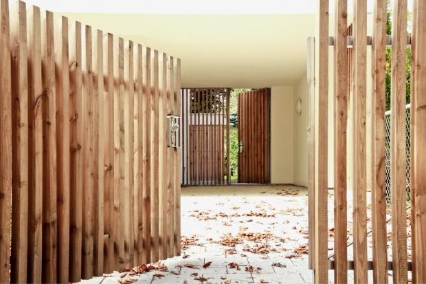 haus w neubau eines doppelhauses in m nchen architekt martin hron m nchen. Black Bedroom Furniture Sets. Home Design Ideas